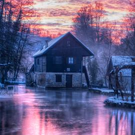 Old House in Rastoke by Siniša Biljan - Landscapes Travel