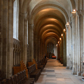 Cathedral by Santosh Vanahalli - Buildings & Architecture Places of Worship ( norwich, uk )