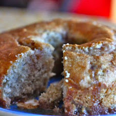 Hazelnut Spice Cake with Cinnamon Glaze