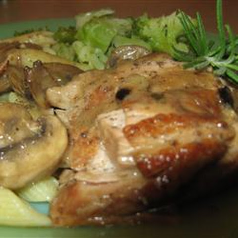 Pork Tenderloin with Creamy Dijon Sauce