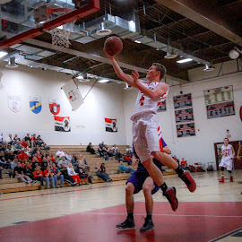 Layup by Jay Woolwine - Sports & Fitness Basketball ( basketball )