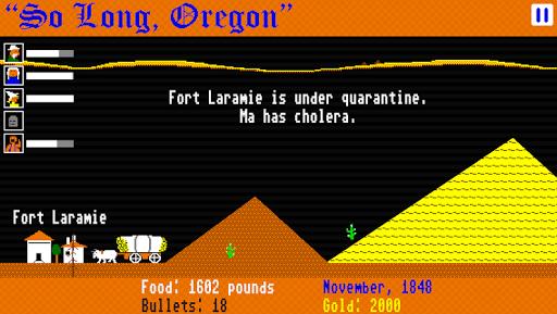 So Long, Oregon! - screenshot