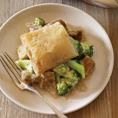 Mock Chicken Divan Pot Pie