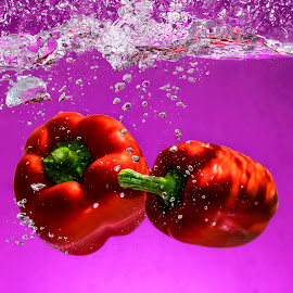 Red in Purple by Imanuel Hendi Hendom - Food & Drink Fruits & Vegetables