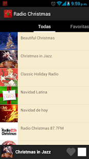 Christmas Radio Screenshot