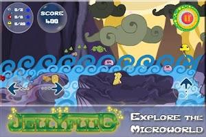 Screenshot of Jellyflug