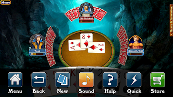 Screenshot of Hardwood Spades