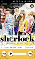 Screenshot of SHINee 'sherlock' Lite