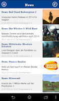 Screenshot of GamePro News