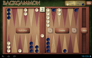 Screenshot of Backgammon