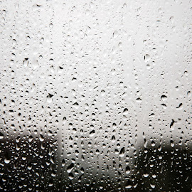 by John Swain - Landscapes Weather ( window, raindrops,  )