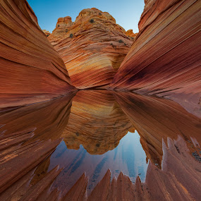 The Wave by Cory Marshall - Landscapes Caves & Formations ( coyote buttes, the wave, arizona )