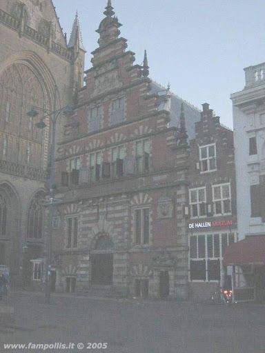 Haarlem, Case Tipiche a scaletta