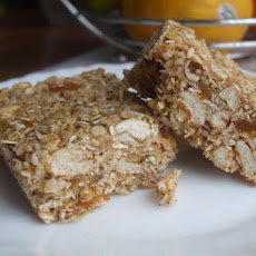 Whole Grain No Bake Granola Bars