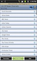 Screenshot of News & Newspapers India