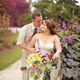 Plantation Wedding by Kristen Livingston - Wedding Bride & Groom