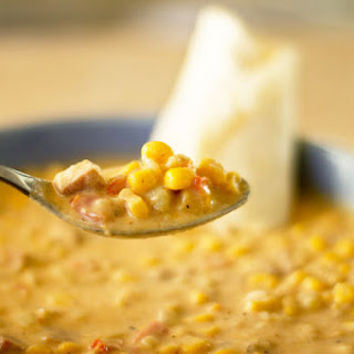 Corn Chowder with Smoked Ham