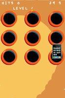 Screenshot of Whack a phone