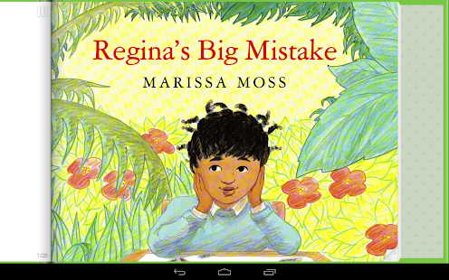 Regina's Big Mistake Storybook - screenshot