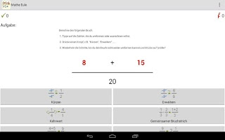 Screenshot of Math Owlet