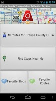 Screenshot of Orange County OCTA: AnyStop