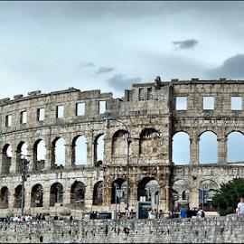 Amfiteatar Pula-Croatia by Josip Kopčić - Buildings & Architecture Public & Historical (  )