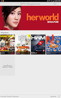 Screenshot of SPH Magazines