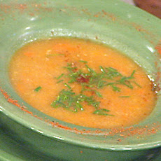 Root Vegetable Soup with Truffle Oil