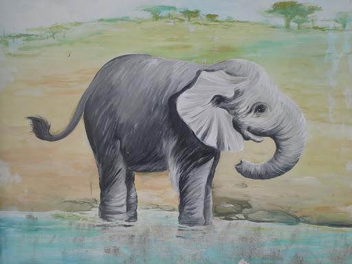 Elephant Mural