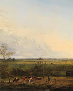 RIJKS: Pieter Gerardus van Os: Distant View of the Meadows at 's-Graveland 1817