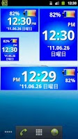 Screenshot of Battery&Clock Widget Donate