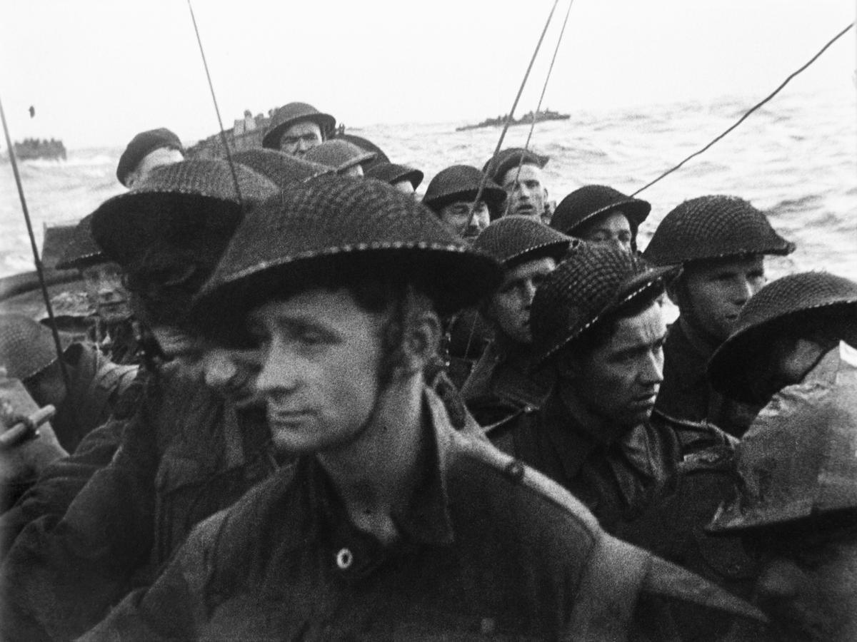 The approach to Sword Beach, 6 June 1944