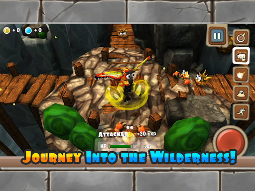 Monster ventures - screenshot