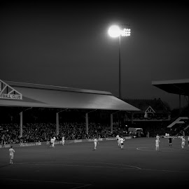 Craven Cottage by James Hunt - Sports & Fitness Soccer/Association football ( stadium )