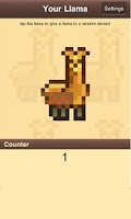 Screenshot of Llama Giving Game
