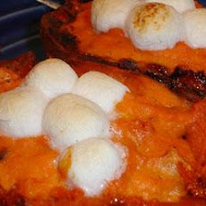 Twice Baked Sweet Potatoes - on the Light Side!