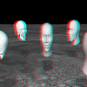 Floating Heads 3D LWP icon
