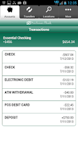 Screenshot of Stockman Bank eMobile - Phone