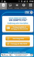 Screenshot of FDJ Scan