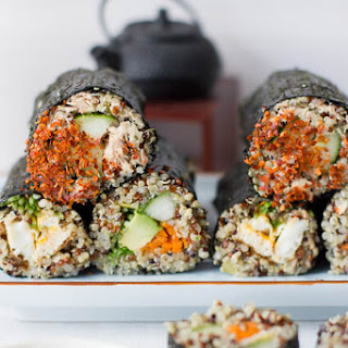 Quinoa Sushi Rolls plus 5 Other Quinoa Recipes