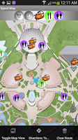 Screenshot of Disney Interactive Map LiteWDW