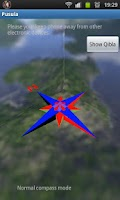 Screenshot of 3D Pusula (Compass and Qibla)