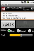 Screenshot of Talking Box