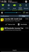 Screenshot of Bills Reminder 2.0