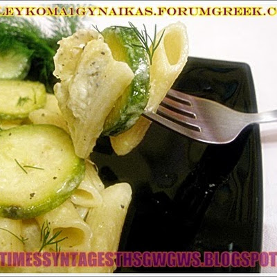 PENNE WITH COURGETTE SAUCE