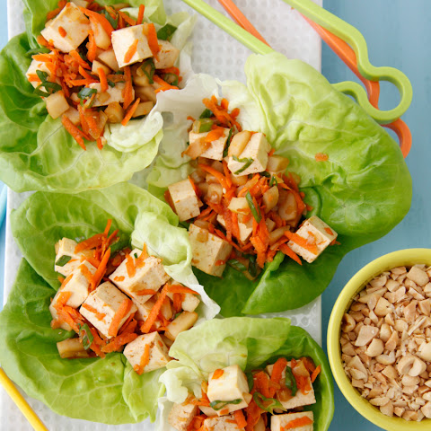 Vegetarian Lettuce Wraps Asian | Asian Chicken, Healthy Vegetarian ...