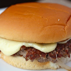 Seared Burgers with Easy-Melting Comté Cheese Slices
