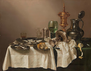 RIJKS: Willem Claesz. Heda: Still Life with a Gilt Cup 1635