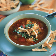 Tortilla Chipotle Chicken Soup