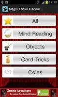 Screenshot of Magic-Tricks Tutorials